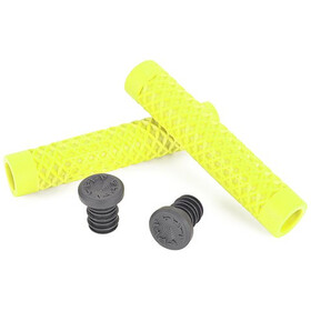 CULT Vans Waffle BMX Grips by ODI, yellow